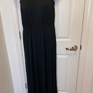 BLACK STRAPLESS MAXI DRESS BY OLD NAVY * 2X *